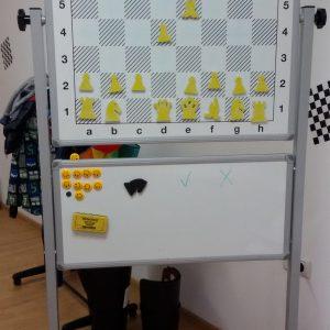 tabla sah demonstativa magnetica profesionala